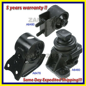 1994-1997-Mazda-626-2-0L-Motor-Mount-Kit-3PCS-for-Auto-Trans-same-day-shipping