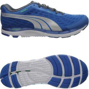 buy popular 77014 7aa3f Details zu Puma Faas 600 v2 blau silber Herren Runningschuhe Laufschuhe 8  mm Sprengung NEU