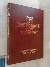 THE WORRELL NEW TESTAMENT A S Worrell s Translation Gospel Publishing House 1980