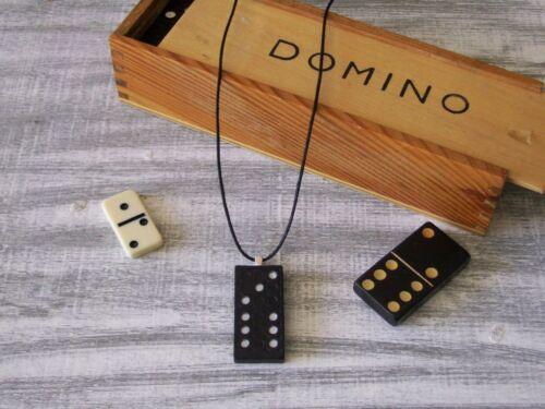 Inglés Gemas Domino Collares alternativas de estilos y números en bolsa de Organza Regalo