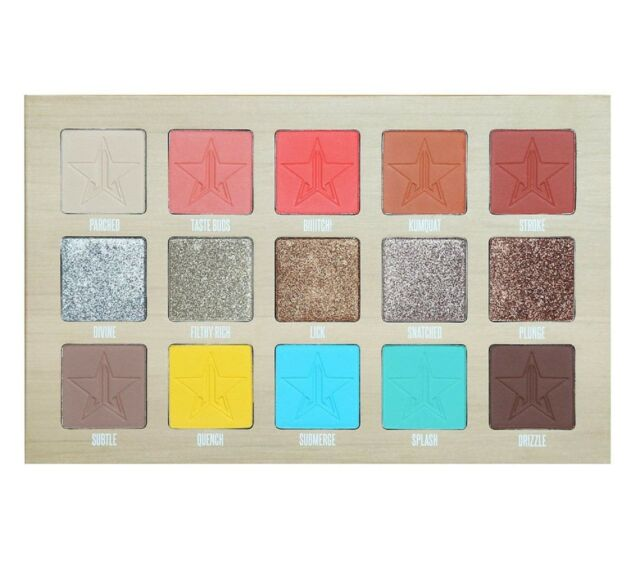 Jeffree Star Thirsty Eyeshadow Palette. Jeffree Star Cosmetics. Huge Saving