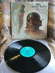 AFRICA WITCHCRAFT AND RITUAL MUSIC VINYL recorded kenya tanzania LP 1975 SHRINK