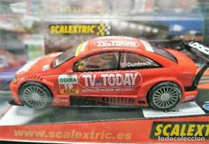 "Capable Scalextric 6138 Opel Astra V8 Coupe Dtm ""dumbreck"""