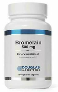 Douglas Laboratories Bromelain 500 mg - Supports Musculoskeletal System, 60 Caps