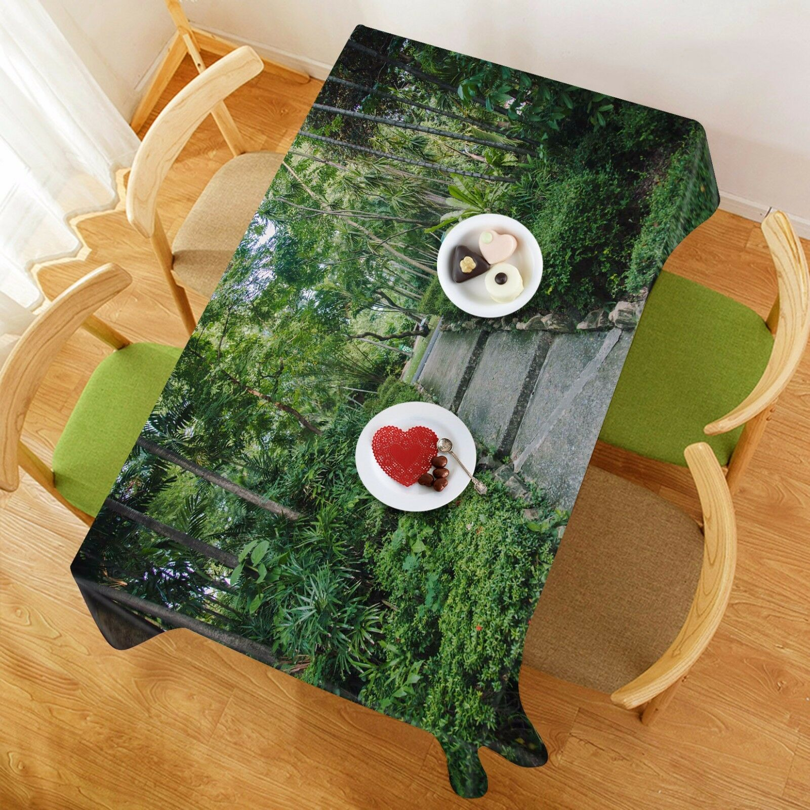 3D Road 4900 Tablecloth Table Cover Cloth Birthday Party Event AJ WALLPAPER AU