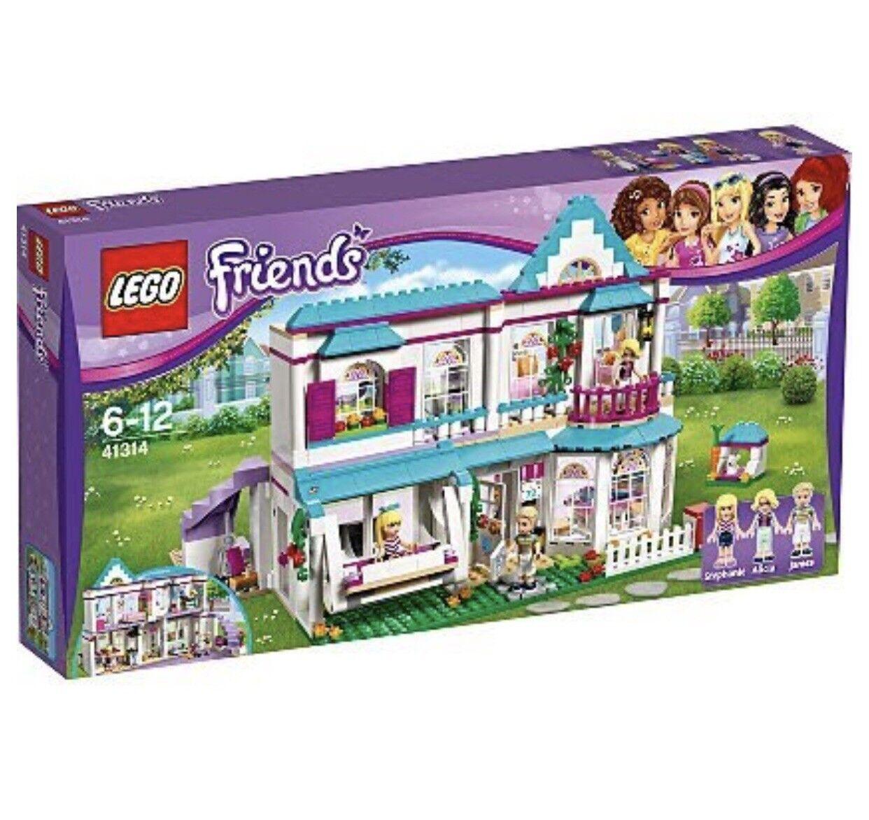 LEGO Friends Stephanie's House 41314-Brand New Sealed Box