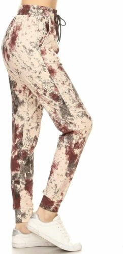 Details about  /Leggings Depot Women/'s Printed Solid Activewear Jogger Track Cuff Sweatpants