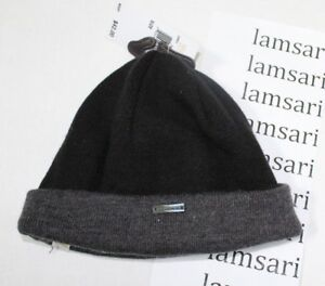 36a44bb231e Michael Michael Kors Men s Cuffed Beanie Winter Hat Black Gray One ...