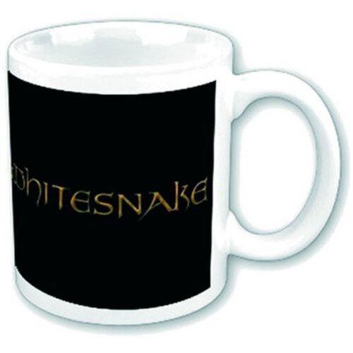 Crest Logo Keramik Tasse Größe Ø8,5 H9,5 cm Whitesnake