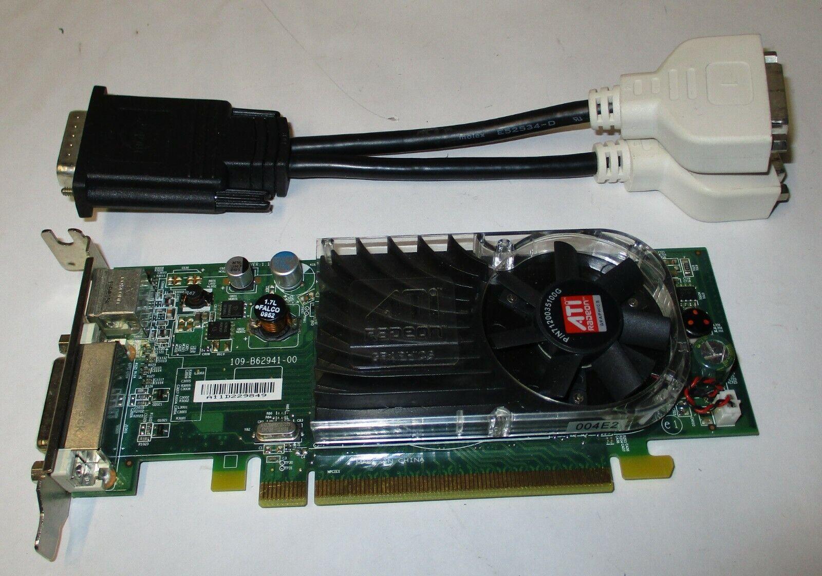 AMD B629 ATI Radeon HD350 256MB DDR2 PCIe x16 64-bit Graphics Video Card 0Y104D