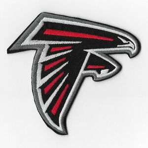 Fan Apparel Souvenirs Football Nfl New Nfl Atlanta Falcons Logo Football Embroidered Iron On Patch I11 Hotelhrpalace In