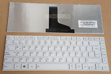 FOR Toshiba Satellite L840 L845 L840D L845D Keyboard Latin Spanish Teclado White