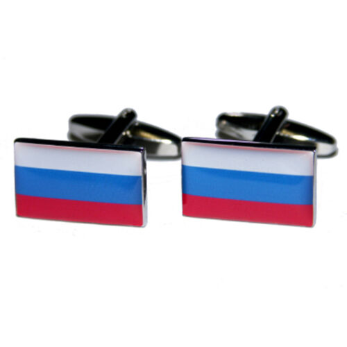Alta calidad de la Federación Rusa Bandera Gemelos