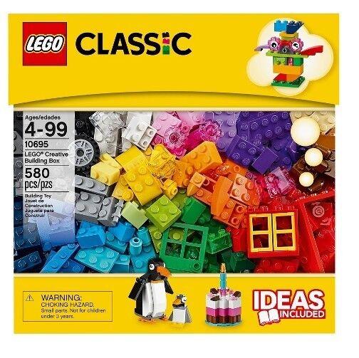 Classic LEGO 580 Pcs Ideas Included Creative Brick Box Building Toys LEGO Toys
