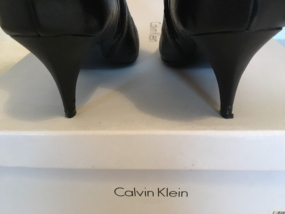 Calvin Klein Jonie Knee High Stiefel UK5 Excellent Condition