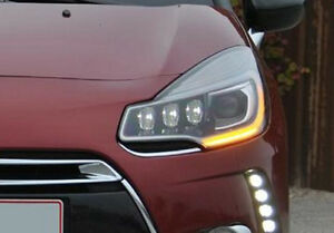 xenon led headlight front left side light for citroen ds3 facelift from 2013 ebay. Black Bedroom Furniture Sets. Home Design Ideas