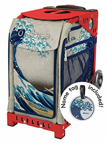 ZUCA  New  Sport Insert Bag   Great Wave  with Sport Frame  Red
