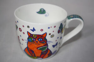 Zu Details Könitz Bone China 1 Katze Porzellan Cat Tasse Becher wahl Animals 400ml Colorful lTK31cFJ