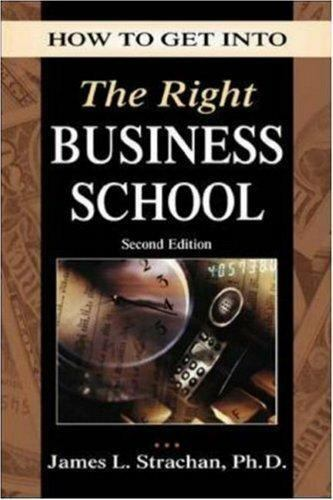 How to Get into the Right Business School