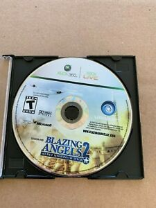 Blazing-Angels-2-Secret-Missions-of-WWII-Microsoft-Xbox-360-2007-DISC-ONLY