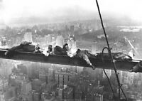 Lunch On A Skyscraper Men On Girder Sleeping  Poster New York A2 SIZE
