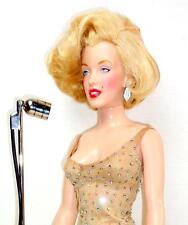 """Franklin Mint Marilyn Monroe Happy Birthday Mr. President Singing 16"""" Doll w/Mic"""