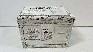 VINTAGE-Love-is-Greeting-Plaque-P1531-1970-Made-in-JAPAN-NEW-amp-SEALED