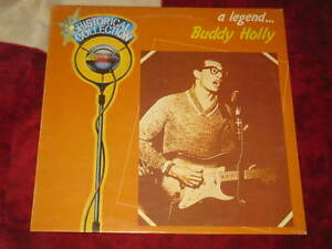 BUDDY HOLLY - A legend .. Historical Collection Orizzonte ita press only - Italia - BUDDY HOLLY - A legend .. Historical Collection Orizzonte ita press only - Italia