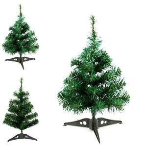 Small-Mini-Table-Top-Christmas-Tree-XMAS-45cm-Green-DECOR-NEW-HOT-GREEN-JG