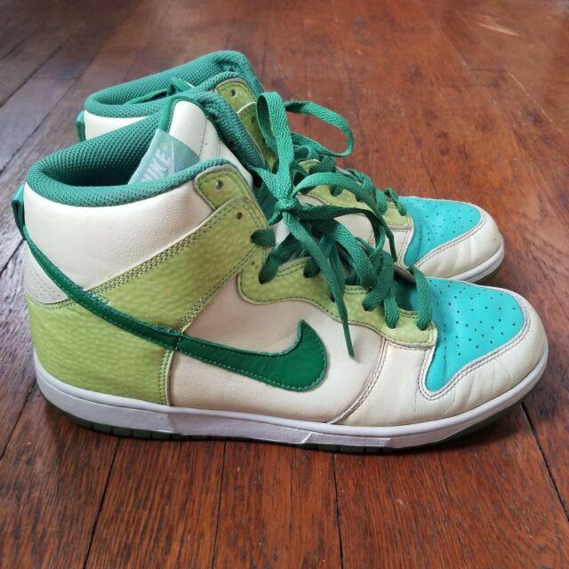 Size 9.5 - Nike Dunk High Premium Glow