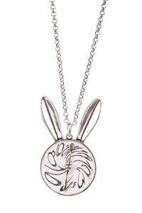 Disney-Alice-in-Wonderland-White-Rabbit-Necklace-WG-Plated-119-RRP-DYN0747