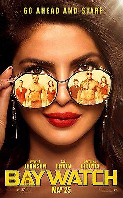 Rohrbach 24x36 - Priyanka Chopra Daddario v12 Baywatch Movie Poster