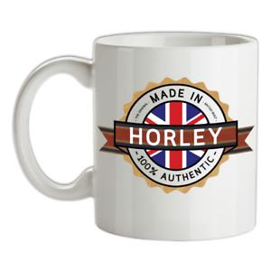 Made-in-Horley-Mug-Te-Caffe-Citta-Citta-Luogo-Casa