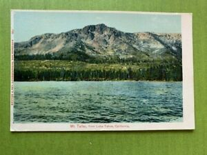 ANTIQUE-POSTCARD-MT-TALLAC-FROM-LAKE-TAHOE-CAL
