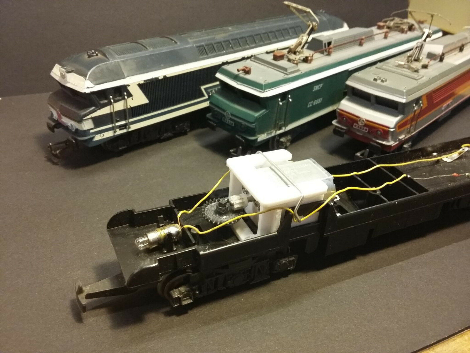Kit moteur pour re-motorisation des locomotives Jouef Jouef Jouef HO CC 72001, CC 6505, 6551 9e30f8