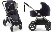 Mamas & Papas 2017 Ocarro Stroller & Bassinet Bundle in Dark Navy Brand New!!