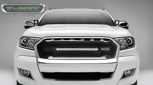 2015 2017 ford ranger t6 zroadz series black grille grill wled image is loading 2015 2017 ford ranger t6 zroadz series black mozeypictures Choice Image