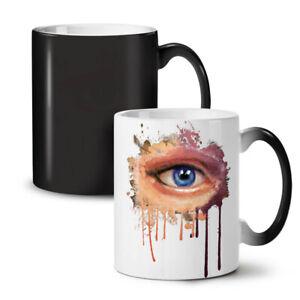 Blue Eye Stylish NEW Colour Changing Tea Coffee Mug 11 oz   Wellcoda