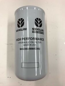 Details about NEW HOLLAND 9842392 HYDRAULIC FILTER FOR SKID STEER 'CASE'
