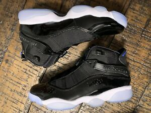 hot sale online 9baab 74e6b Details about Air Jordan 6 Rings Basketball Shoe Space Jam Black 322992-016  Sz 7 NO BOX TOP