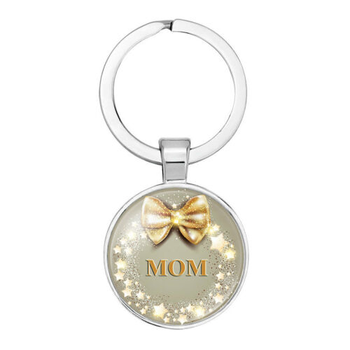 Love Forever Heart Mom Pendant Keychain Keyring Family Mothers Day Gifts For Mom