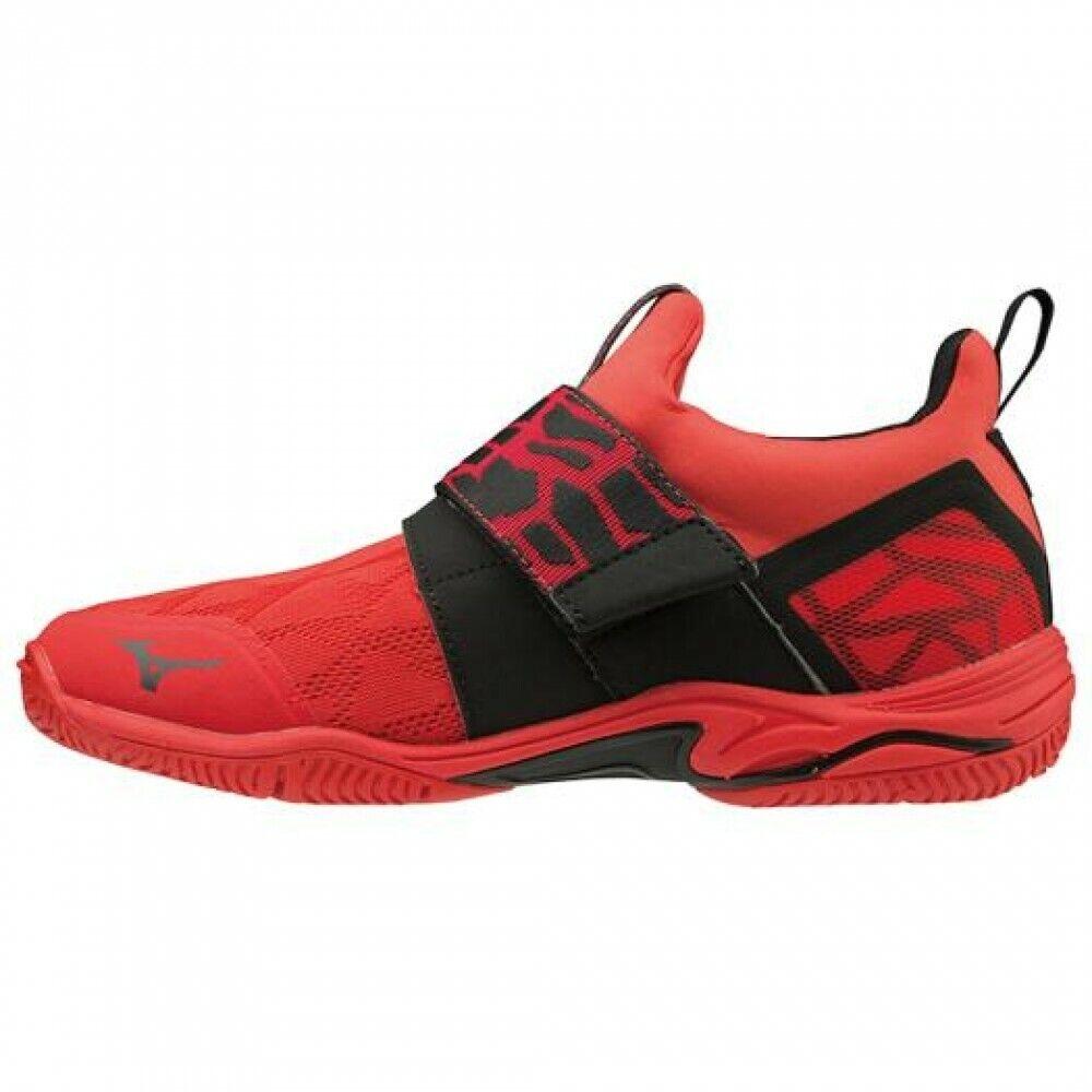 Mizuno Dance Fitness schoenen WAVE DIVERSE LG LITE K1GF1902 Rood blad 655533;; Zwart