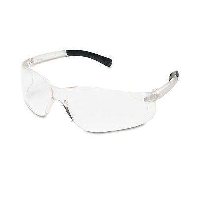 Glasses, Goggles & Shields Mcr Safety Bearkat Safety Glasses Wraparound Black Frame/clear Lens Bk110bx Vivid And Great In Style