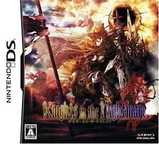 Used Nintendo DS Knights in the Nightmare Japan Import (Free Shipping)