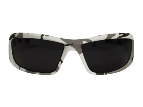 Smoke Lens Arctic Camo Frame Edge Eyewear XB116-AC Brazeau Safety Glasses