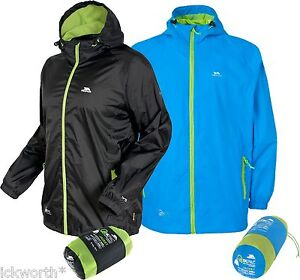 Trespass Qikpac Packaway Waterproof Jacket Mens Ladies Womens ...