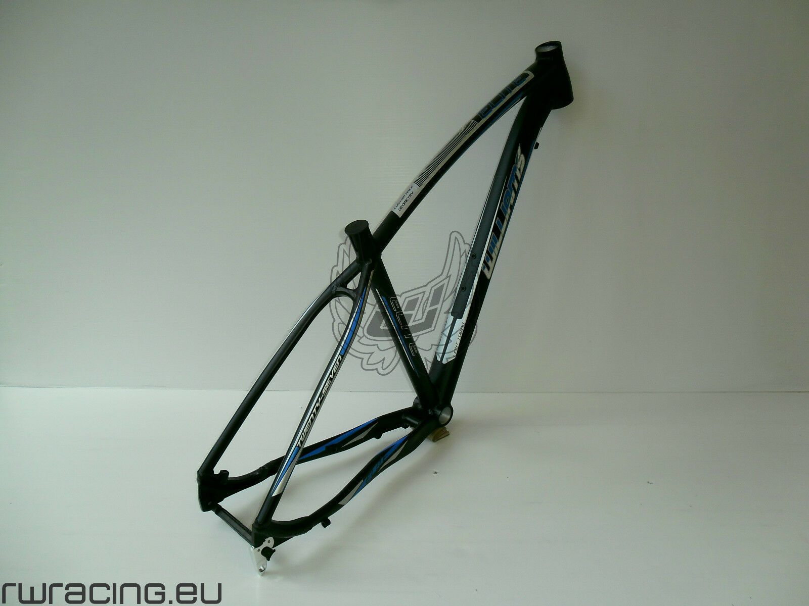 Telaio mtb 27.5 per bici   xc   crosscountry alluminio Williams black   blue