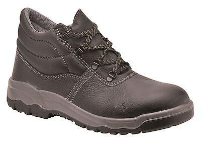 Portwest Kumo seguro Zapatos Trabajo Puntera De Acero Entresuela & Tamaños 3 - 14 FW23 Workwear