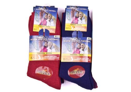 Ladies Ultimate Thermal Socks Warm Thick Winter Socks Boot Hiking Walk 3 Pairs