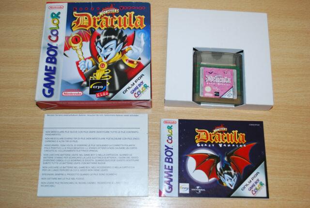 Dracula Crazy Vampire Game Boy Color GBC komplett OVP